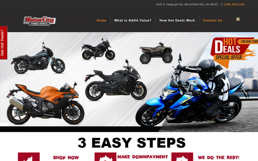 MotorCity Power Sports Hot Deals
